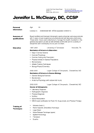 Curriculum Vitae Medical Doctor Template Resume Idea