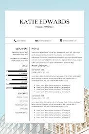 Modern Resume Template Free Download Word Cv Templates Word Professional Resume Template Free Download