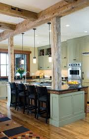 Best Modern Rustic Kitchens Ideas Only On Pinterest Rustic