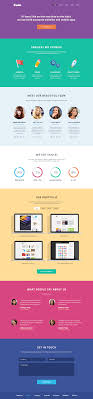 Cuda Single Page Portfolio Template Graphicburger