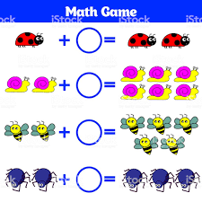Mathematics Educational Game For Children Learning Subtraction ...
