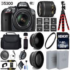 D Lighting Nikon D5300 Buy Nikon D5300 Dslr Wi Fi Gps 24 2mp Dx Cmos Camera Gray