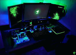 custom built computer desk custom built desk computer gaming desk ideas the ultimate gaming setup gaming custom built computer