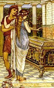 myth of pandora s box  epimetheus and pandora