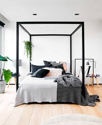 Image of: Four Poster Bed Canopy