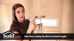 how to replace and install a pendant lighting fixture