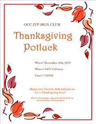 Sign Up Sheet For Thanksgiving Potluck 24 Images Of Thanksgiving Potluck List Template Leseriail Com