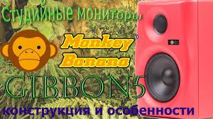 Обзор <b>мониторов Monkey Banana</b> Gibbon 5. Конструкция и ...