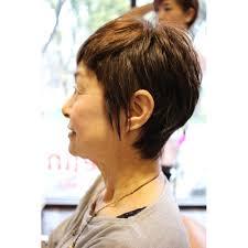 かわいいオバアちゃんのショート Belinベリンのヘアスタイル 美容