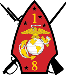 1st Battalion 8th Marine Regiment USMC Logo Vector (.EPS) Free Download
