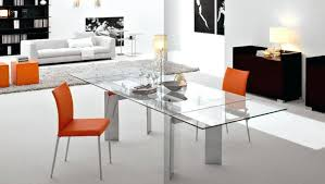 pleasant and modern glass dining table table design modern glass dining table image of clear modern modern bold glass extension dining table