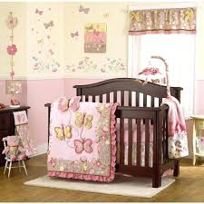 butterfly crib bedding pink set target nojo beautiful 9 piece