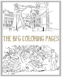Small Picture The BFG Coloring Pages Simply Being Mommy