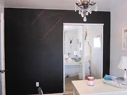 before after closet door makeover on design sponge