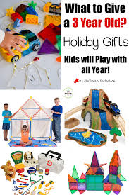 Toys for Three Year Olds to Spark Imagination! What Give a Old? Holiday Gift Ideas Kids will Play