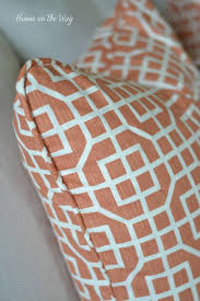 How To Make Removable Throw Pillow Covers With Velcro Closure