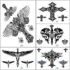 699 1 Pcs Non Toxic Vzor Velká Velikost Dočasné Tetování Totemová řada Velká Velikost Tělesné Arts Ruce Paže Waterproof