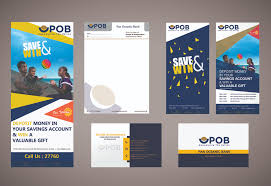 Bank Graphic Design Pan Oceanic Bank Marketing Designs Trumpcode