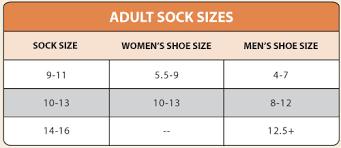 Men S Sock Size Chart Maggies Organic Classic Cotton Crew Sock White Color Size 10 13