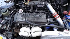 Toyota Starlet Glanza EP91 1.3 Turbo Petrol Engine 4E-FTE Conversion ...