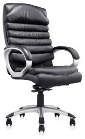 comfortable computer chairs. Black Leather Comfortable Computer Chair: Full Size Chairs R