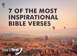 Inspirational verses