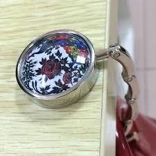 purse holder for table las purse hanger hook handbag holder table bag hook peacock flower design purse holder