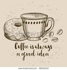 Coffee Restaurant Brochure Vector Coffee Shop Stock Vector 383551333 ...