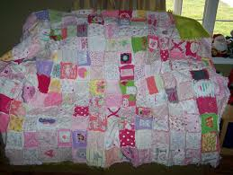 50 best receiving blanket quilt images on Pinterest | Beautiful ... & Quilt made out of baby clothes and receiving blankets! Adamdwight.com