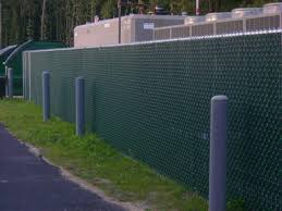 Great Chain Link Fence with Slats Model for Your Environment