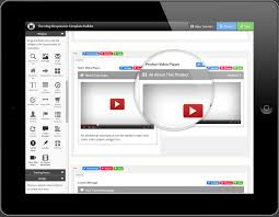 responsive listing templates listing template builder view video player example