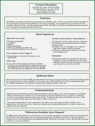 What Should Go On A Resume 30626 Densatilorg