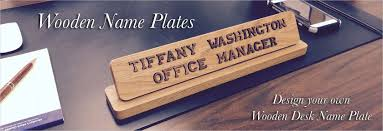 name plates to make any office unique desk door or wall name plates