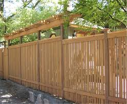 fence construction. fence for semiprivacy construction