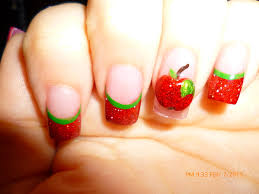 Apple Nails and Latest Apple Nail Art Designs