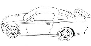 Cool Car Coloring Pages For Kids At Getdrawingscom Free For