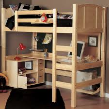 full size loft bed with desk underneath awesome bedroom loft with closet for desk and underneath