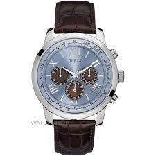 """men s guess horizon chronograph watch w0380g6 watch shop comâ""""¢ mens guess horizon chronograph watch w0380g6"""