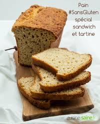 recette pain sans gluten spécial sandwich