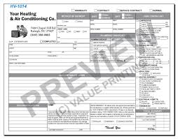 design fast shipping on hvac forms hvac invoices work click to enlarge