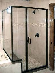 how to adjust frameless shower door semi shower door semi shower precision glass shower semi shower