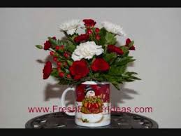 christmas flower arrangements ideas53
