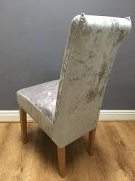 dining chair covers. Dining Chair Covers Archives · JF Light Grey/Silver Velvet Cover