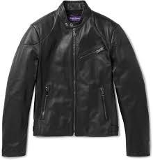 1 ralph lauren leather biker jacket for men