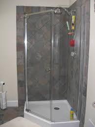 Shower Corner Shower Stall Ideas Tile For Smalls Bathtub With 100