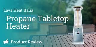 lava heat italia tabletop patio heater review