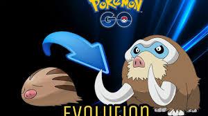 Swinub Evolves Mamoswine Pokemon Go Gen 2