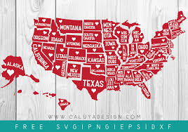 Florida svg, florida cut files, florida svg file, florida clip art, svg florida, svg florida state, florida dxf, florida home svg, home svg. Free 51 States Svg Png Dxf Eps By Caluya Design