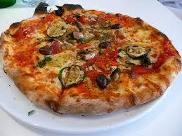 Resultado de imagen para pizza vegetariana