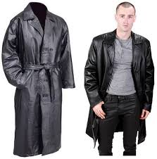 leather trench coats for men